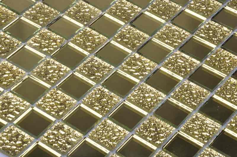 镜面玻璃马赛克 - 兰铂金艺术背景墙
