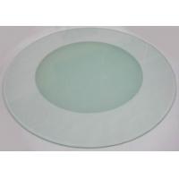 钢化玻璃餐桌 圆形钢化玻璃桌面 钢化玻璃定做