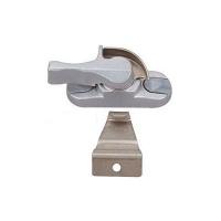 成都飞翔装饰铝合金门窗配件 铝合金月牙锁 装饰材料五金