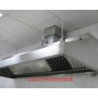 不锈钢整体厨房集烟罩精准定制安装