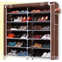 庆诺牌双排7层鞋架 鞋柜 简易鞋架 大鞋柜