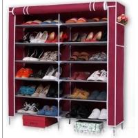 庆诺牌双排7层鞋架 鞋柜 简易鞋架 大鞋柜4