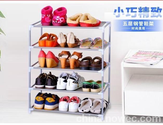 庆诺牌简易组装鞋架(2-10层)