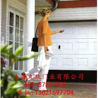 上海小区别墅高档电动遥控车库卷帘门,卷帘车库门,翻版车库门