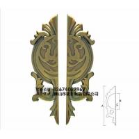 弧形钛金异形制品加工不锈钢大门拉手