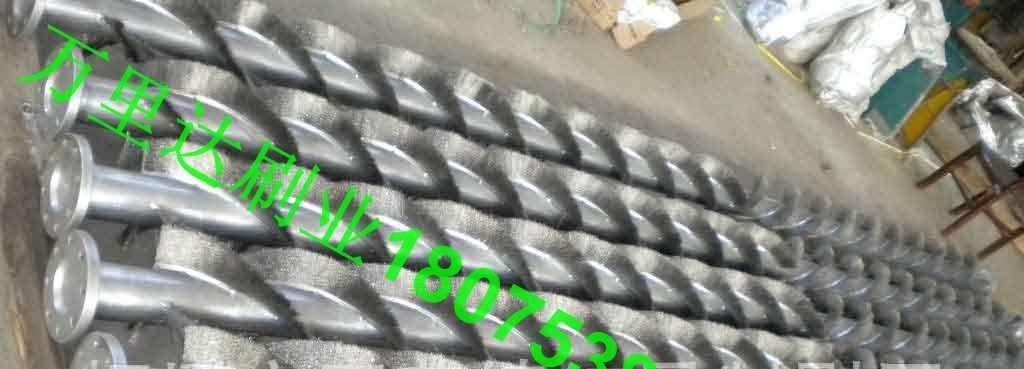 火电厂移动电极静电除尘器钢丝辊 _火电厂除尘钢刷