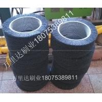 磨料丝弹簧刷|钢丝尼龙丝弹簧刷|清洗除尘弹簧刷辊