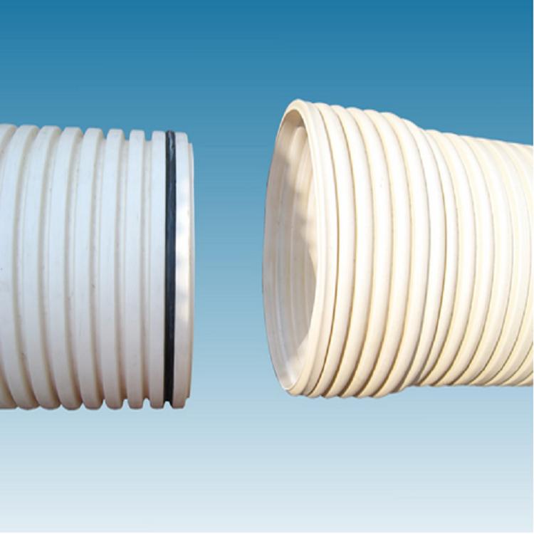 仪征华扬PVC双壁打孔波纹管 波纹管规格