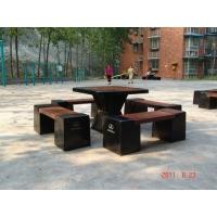 玻璃钢社区休闲桌椅高档休闲不腐蚀