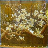 佛山供应热熔玻璃 适用于 屏风背景--志涛玻璃厂