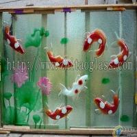 佛山志涛玻璃供应热熔玻璃背景墙