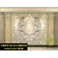 现代中式电视墙