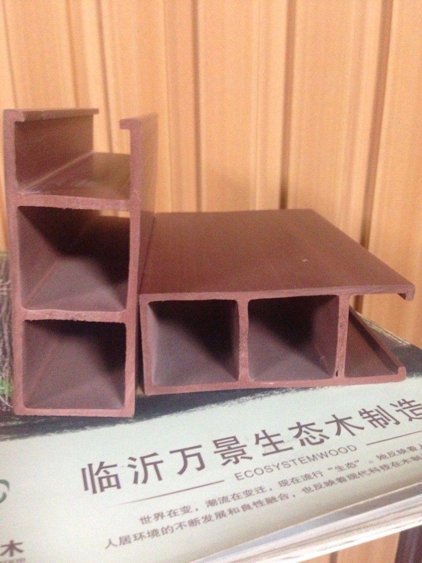 供应各种类型生态木天花吊顶材料库存供应 定尺生产