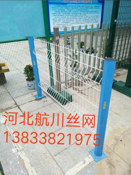 河北航川护栏网、矿筛网、边框护栏、小区护栏、钢格板