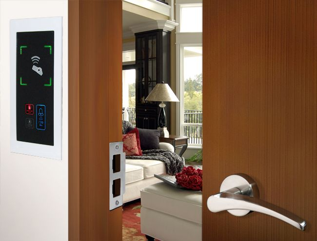 海南房门锁,酒店专用微信开门锁