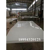 山东河北PVC塑料板 PVC硬板 耐酸碱易加工 2-50mm