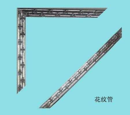 大量楼梯扶手不锈钢花纹装饰管现货
