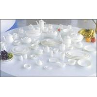 山东淄博镁质强化瓷餐具茶具酒店瓷器咖啡具盘子碗杯子碟子