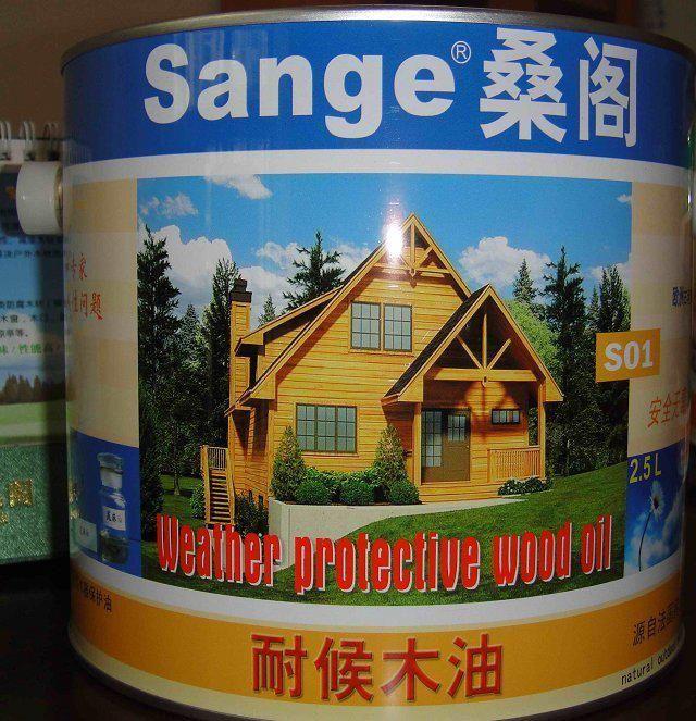 供应广西桂林 桑阁木屋维修耐候木油漆 园林古建漆 水性户外