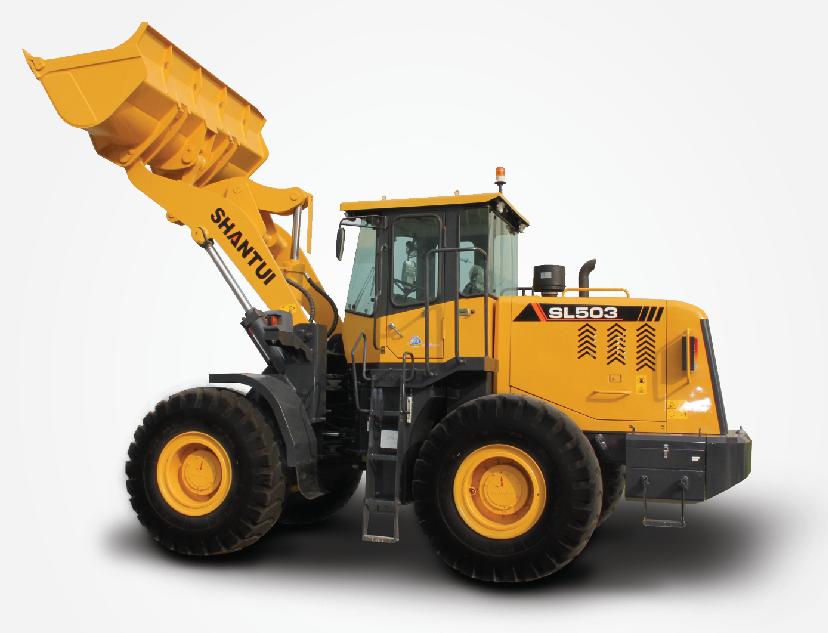 山推50铲车,山推SL503轮式装载机
