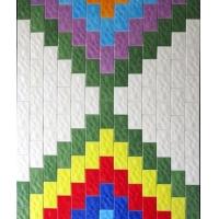 75*150mm彩色波纹砖,釉色定制砖