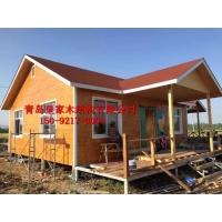 青岛移动休闲木屋 木房子