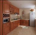 实木橱柜、幻彩3D橱柜、品牌厨房电器