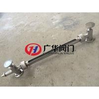 不锈钢快装式液位计 不锈钢保护套管玻璃管液位计 食品级液位计