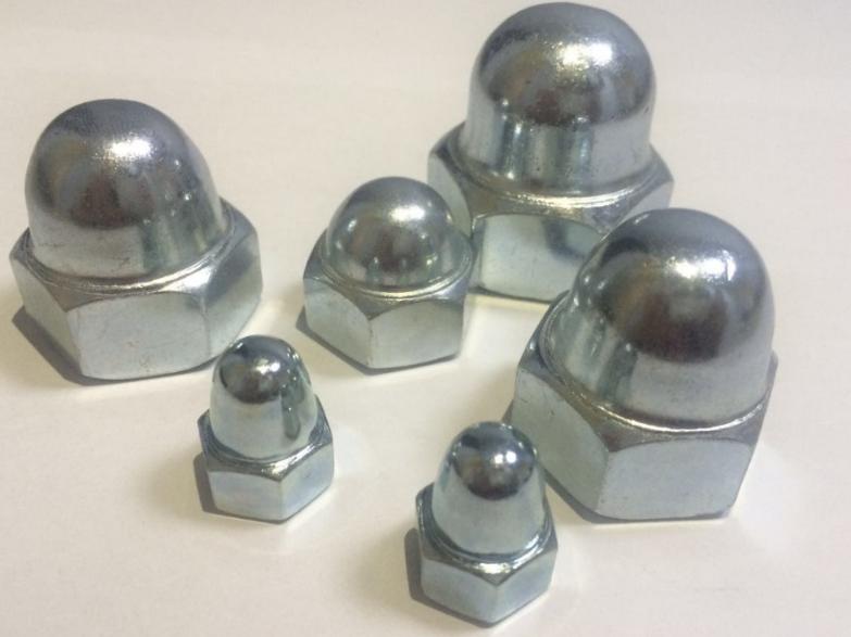 高品质六角盖形螺母 M4 盖型螺母
