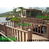 杭州塑木地板,塑木花箱花架,塑木栅栏栏杆