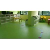 幼儿园专用地胶安装效果