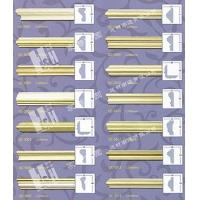 别墅中式法式装修材料,PU素面平线,南通