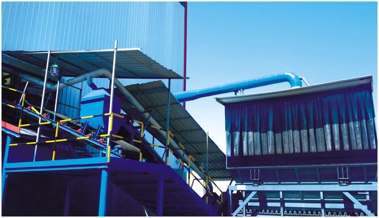 干法风扫磨煤系统