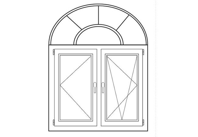 隔热铝合金窗K=1
