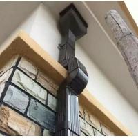 湖北省别墅用成品檐沟 铝合金排水管