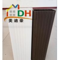 行唐楼房外墙排水专用PVC方形彩色雨水管落水管道