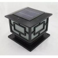 led柱头灯太阳能柱头灯庭院柱头灯l太阳能墙头灯