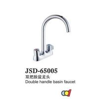 成都-金仕顿卫浴-双把脸盆龙头-JSD-65005