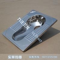 一体冲压蹲便器 旱排蹲便器 不锈钢蹲便器 304材质 镜面处