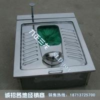 不锈钢打包蹲便器 不锈钢打包便器 矿用集便器 SLD- 10