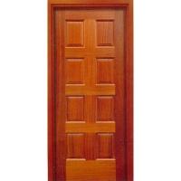成都林海木门-高档原木油漆套装门-实木门