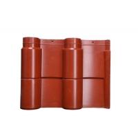 高分子仿古筒瓦--中主瓦--汉宫红--筒瓦-仿古瓦-装饰瓦