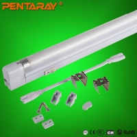 T5全塑料荧光灯支架,一体化节能灯支架