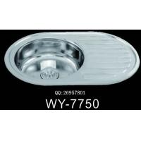 广东|供应拉伸厨房不锈钢水槽|WY-7750