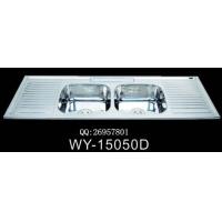 广东|供应一体拉伸厨房不锈钢水槽|WY-15050D