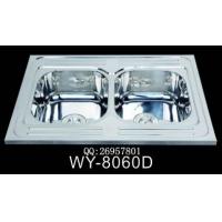 广东|供应一体制拉伸厨房不锈钢水槽|WY-8060D