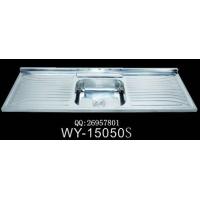 广东|供应一体拉伸成型厨房水槽|WY-15050S
