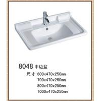 陶瓷盆,工程陶瓷盆,广东陶瓷盆,柜盆