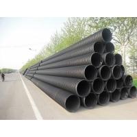 HDPE塑钢缠绕管现货供应