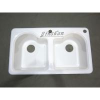 铸铁水槽 美式搪瓷铸铁水槽 厨盆 洗涤槽